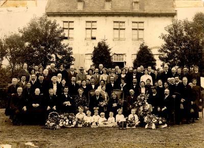 Familie Halle (bedevaarders), Hooglede, 1920