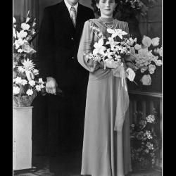 Huwelijk Rogerius Gerardus Mattan - Mariette Julia Soenens, Ingelmunster, 1948