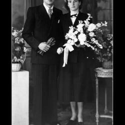 Huwelijk René Wastijn - Georgetta Naert, Ingelmunster, 1948