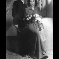 Huwelijk Maurits Fertein - Georgette Plovie, Ingelmunster, 1949