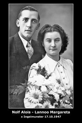 Huwelijk Aloïs Nolf - Margaretha Lannoo, Ingelmunster, 1947