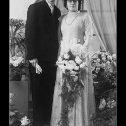 Huwelijk Simon Tack - Alice Lecluyse, Ingelmunster, 1949