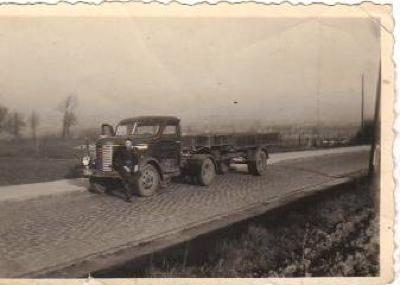 Vervoer Maes, gebroeders Adolf en Jozef Maes, Gits
