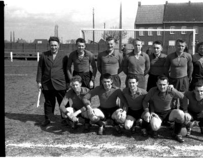 Reserven FC Izegem: groepsfoto, Izegem 1958