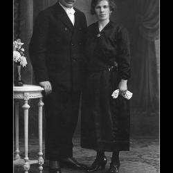 Huwelijk Remi Delaere - Magdalena Goemaere, Hulste, 1922