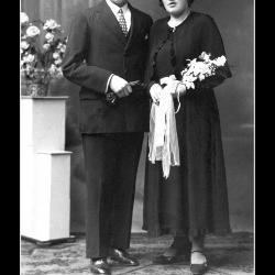 Huwelijk Gerard Evarist Vandendriessche - Robertine Celestine Lierman, Klemskerke, 1935