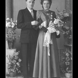 Huwelijk Gerard Verschoot - Dina Seynaeve, Ingelmunster, 1953