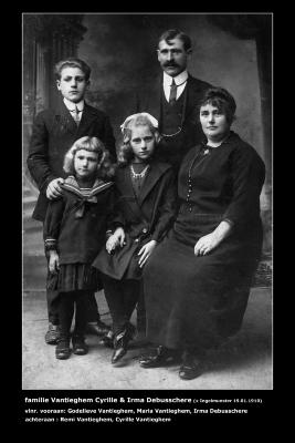 Familiefoto Cyrille Vantieghem, Ingelmunster