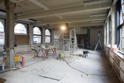 Agentschap van de Nationale Bank, Verbouwingen, foto 1