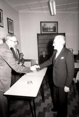 Opening bibliotheek, Dadizele april 1978