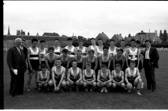 """Atletiekvereniging """"De Mandelclub"""", Izegem, 1958"""