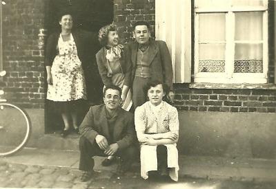 Familiefoto, Grijspeerd Gits