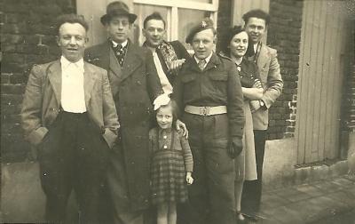 Legerdienst van Gaston Hoirelbeke, Gits, 1950
