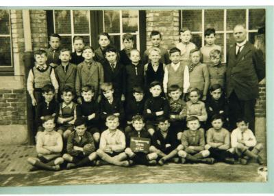 Klasfoto, stadsschool II, 4de leerjaar