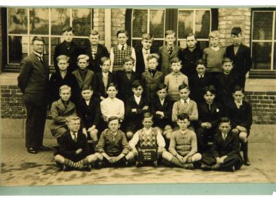 Klasfoto 7de leerjaar, stadsschool II