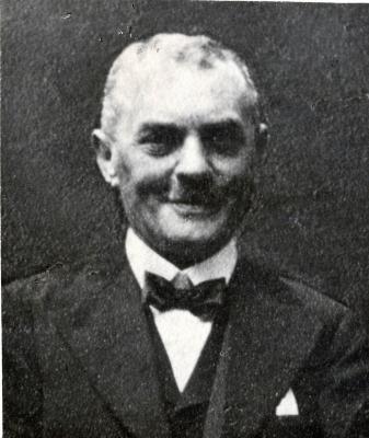 Portretfoto van Valeer Eugeen Tanghe