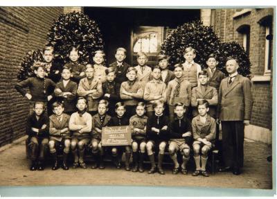 Klasfoto, stadsschool I, 1937-1938