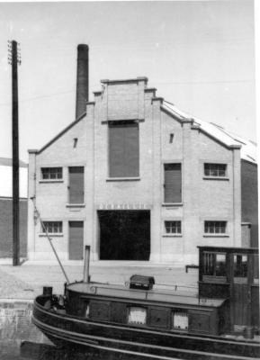 Magazijn van de fabriek Debaillie, 1938