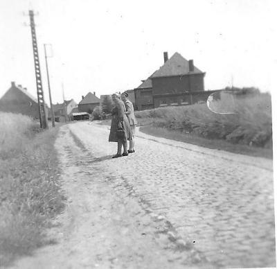 Leenbosstraat, Gits, 1950